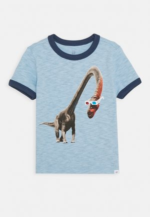 TODDLER BOY GRAPHIC - Print T-shirt - blue focus