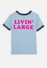 GAP - TODDLER BOY GRAPHIC - Print T-shirt - blue focus - 1