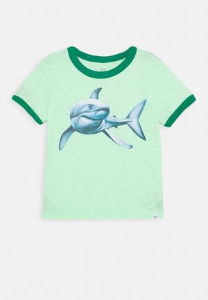 TODDLER BOY GRAPHIC - Print T-shirt - statement green