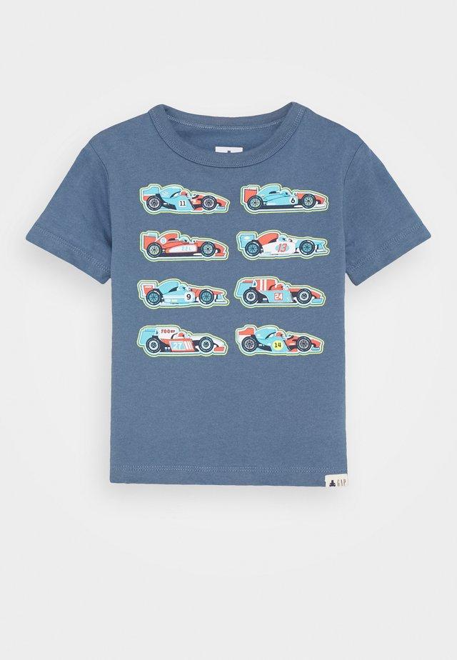 TODDLER BOY GRAPHICS - T-shirt con stampa - bainbridge blue