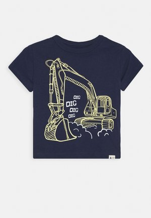 TODDLER BOY MAY GRAPHICS - T-shirt print - military blue