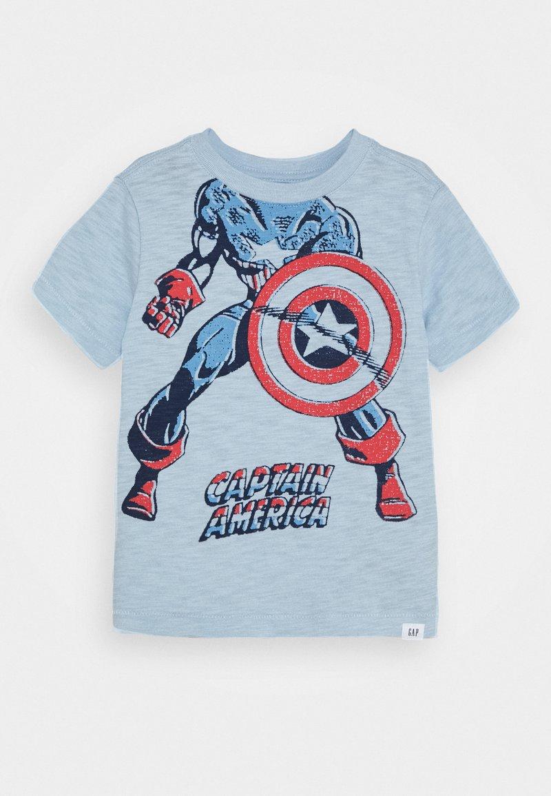 GAP - TODDLER BOY TROMPE LOEIL - T-shirt con stampa - harbor