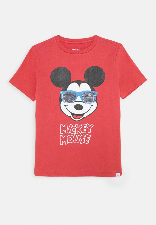 BOY MICKEY TEE - Camiseta estampada - desert flower