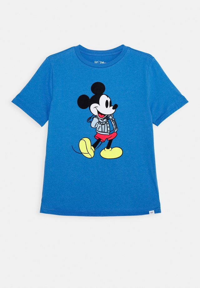 BOY MICKEY TEE - Triko s potiskem - aerospace