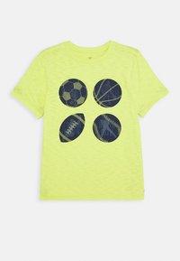 GAP - BOY - T-shirt print - phosphorus - 0
