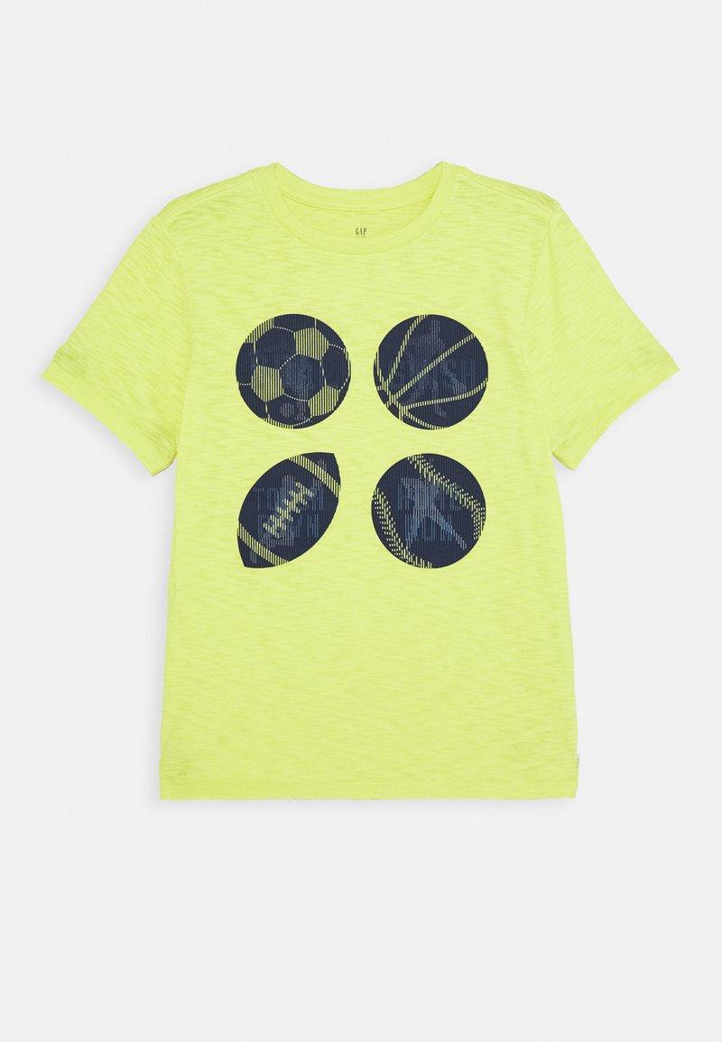 GAP - BOY - T-shirt print - phosphorus