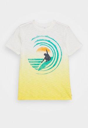BOY ISLAND - Print T-shirt - canary yellow