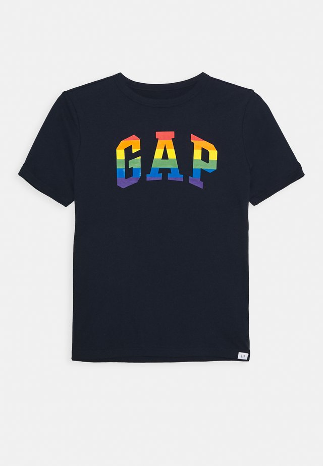 BOY V PRIDE TEE - T-shirt con stampa - blue galaxy