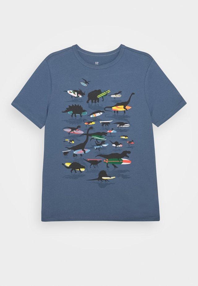 BOYS - T-shirt imprimé - bainbridge blue