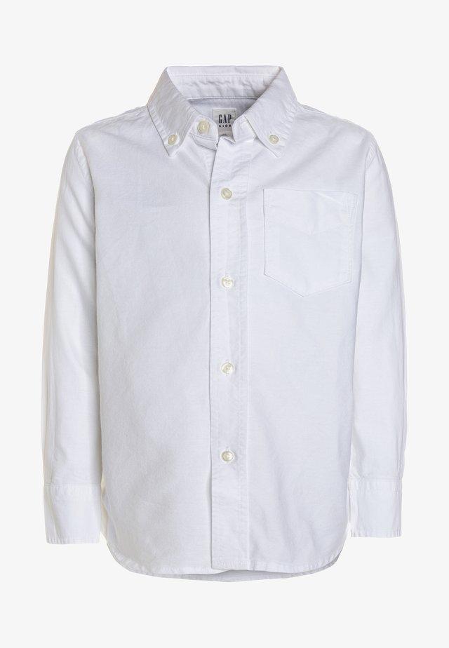 BAS OXFORD - Shirt - white
