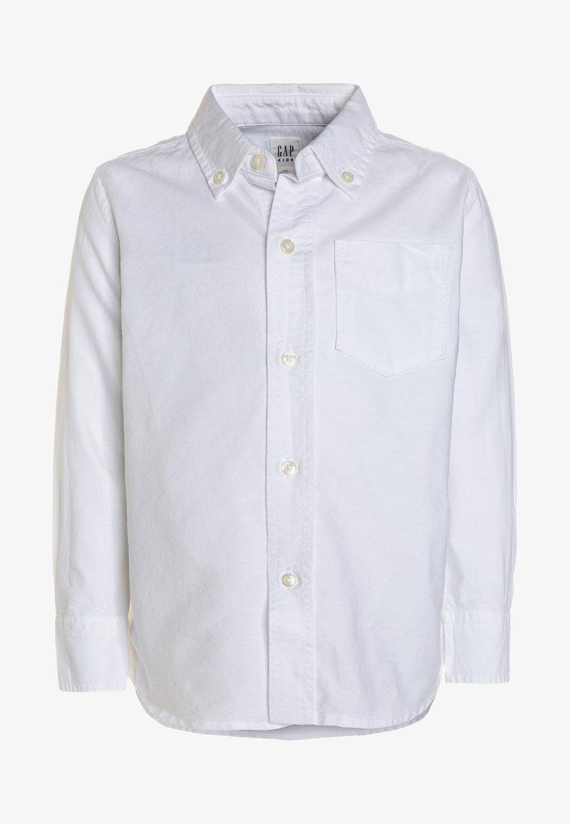 GAP - BAS OXFORD - Shirt - white