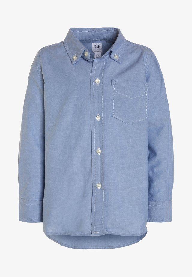 BAS OXFORD - Vapaa-ajan kauluspaita - oxford blue
