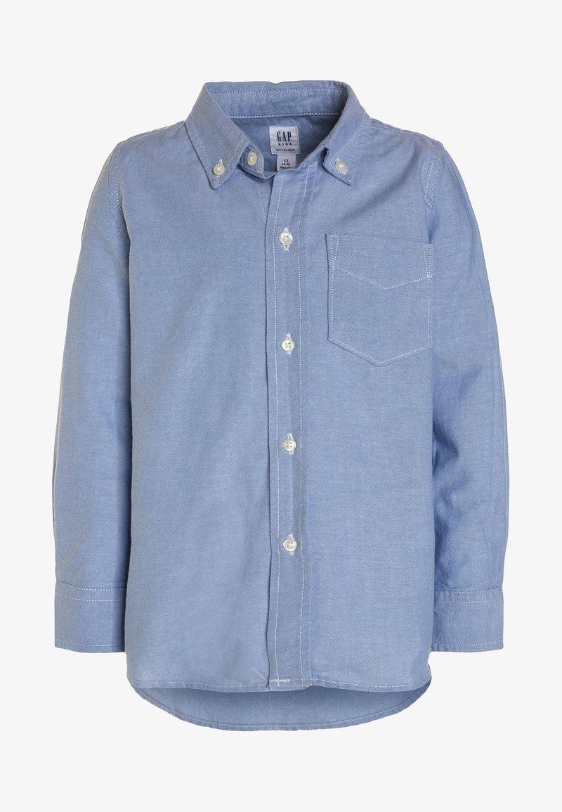 GAP - BAS OXFORD - Camisa - oxford blue
