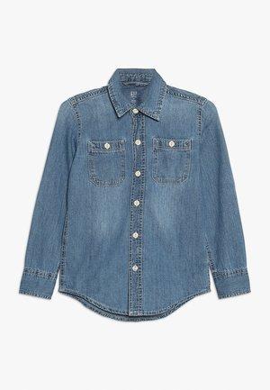 BOYS SHRT - Košile - dark blue denim