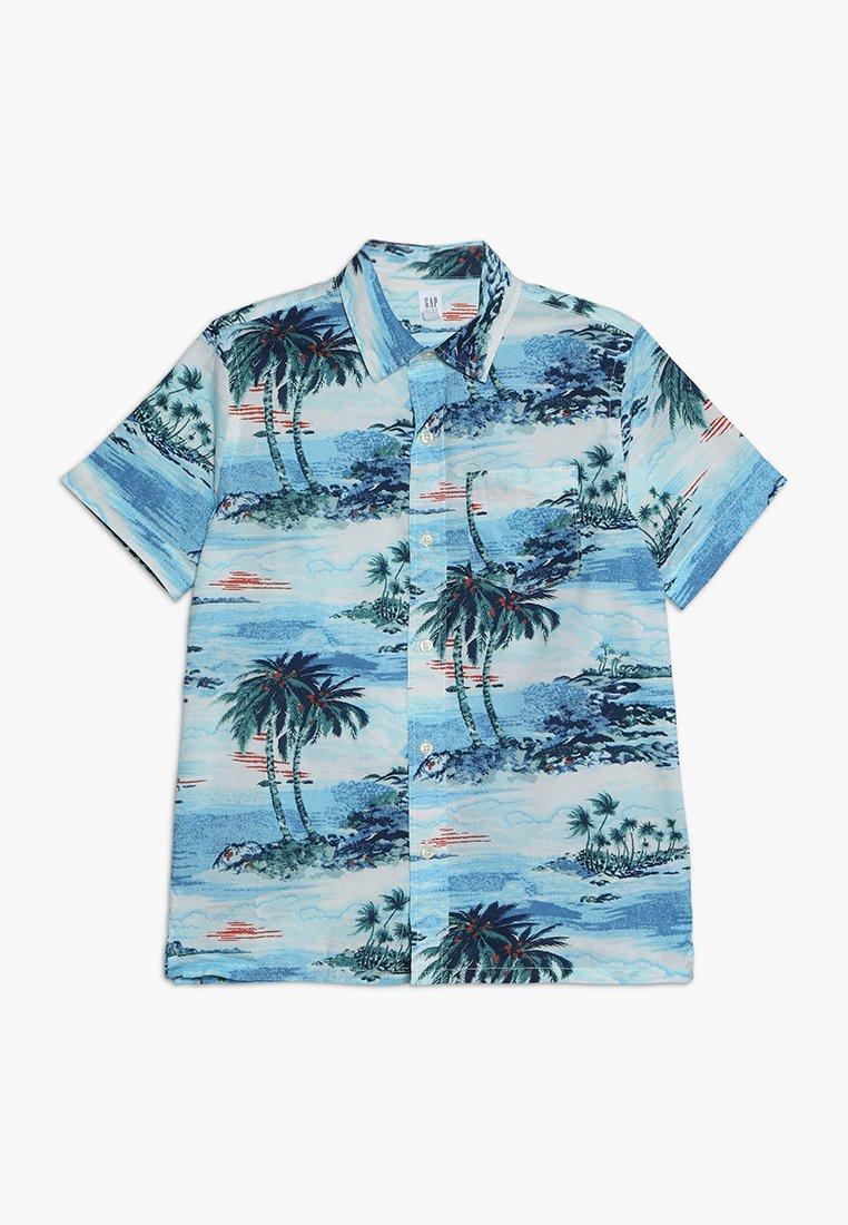 GAP - BOYS CAMP - Skjorte - blue