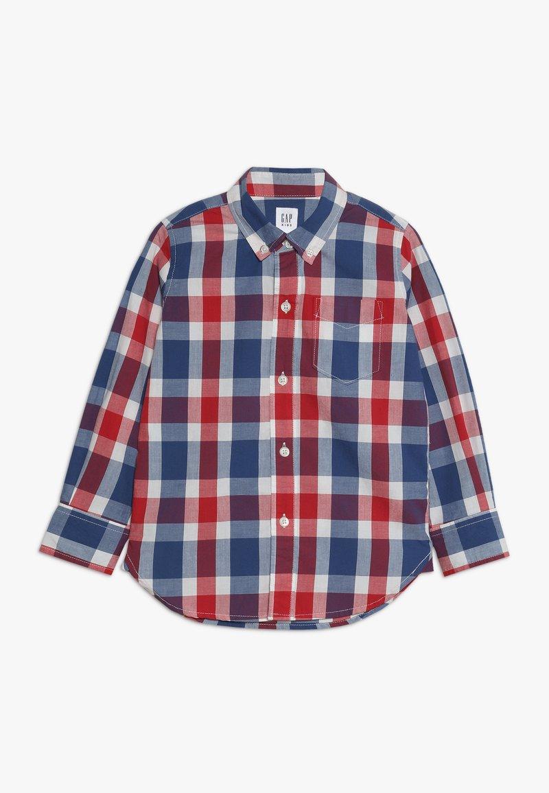 GAP - BOYS - Košile - red/ blue