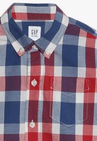 GAP - BOYS - Košile - red/ blue - 4