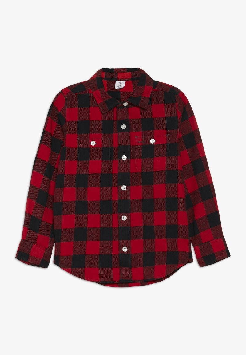 GAP - TODDLER BOY BUFF PLAID - Košile - modern red