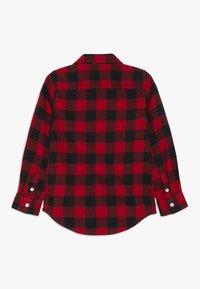GAP - TODDLER BOY BUFF PLAID - Košile - modern red - 1