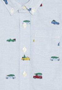 GAP - TODDLER BOY OXFORD PRINT - Košile - buxton blue - 3