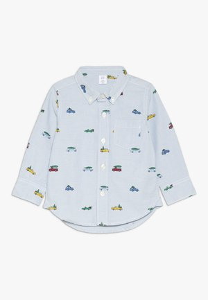 TODDLER BOY OXFORD PRINT - Overhemd - buxton blue