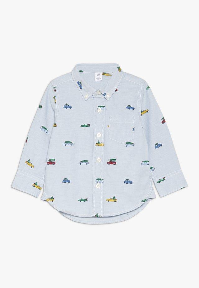 TODDLER BOY OXFORD PRINT - Skjorte - buxton blue