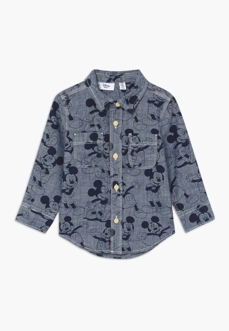 GAP - TODDLER BOY MICKEY - Camicia - blue denim
