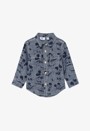 TODDLER BOY MICKEY - Shirt - blue denim