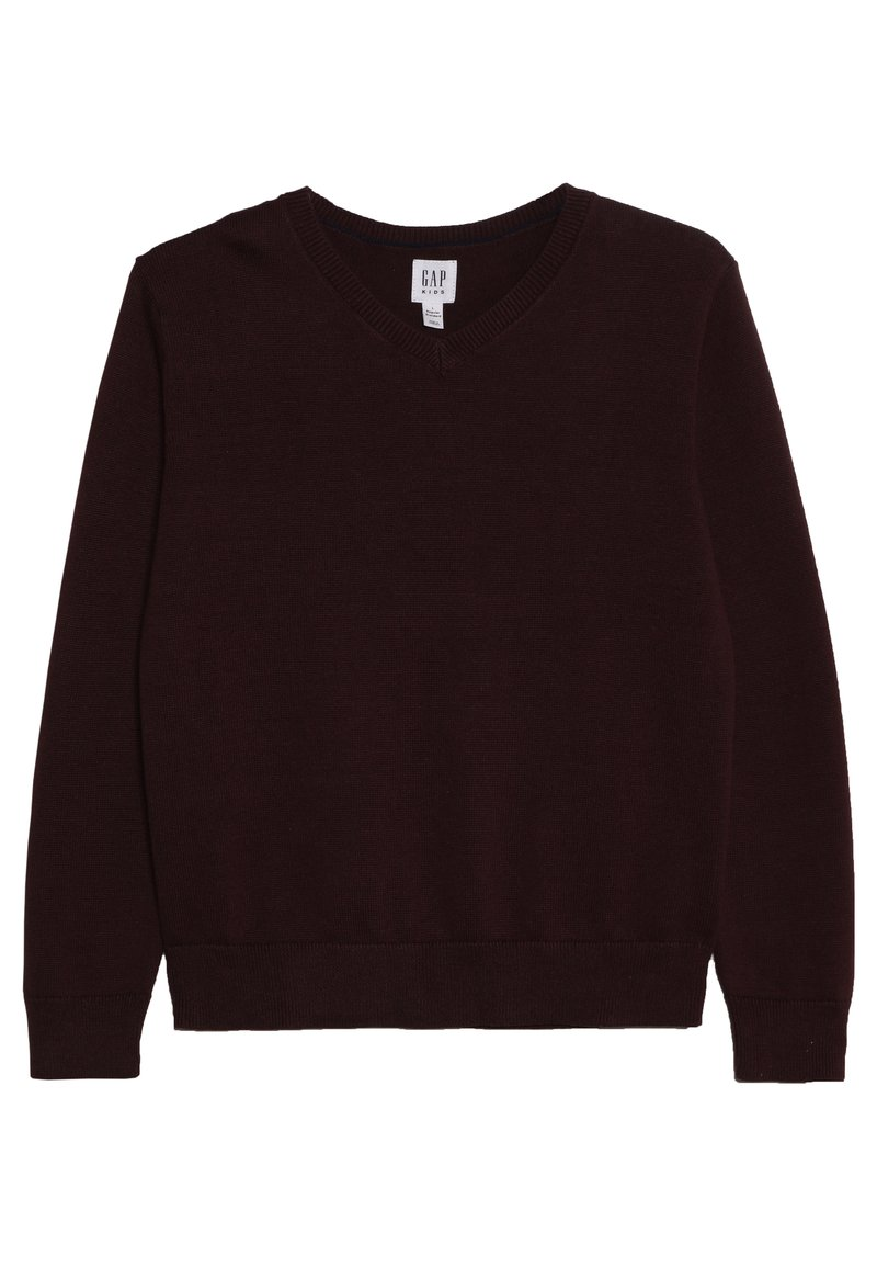 GAP - BOYS UNIFORM - Strickpullover - burgundy