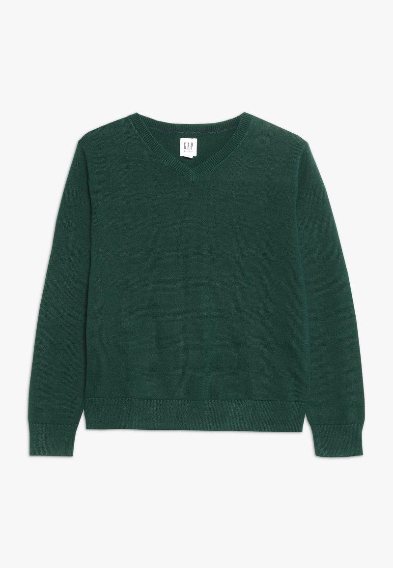 GAP - BOYS UNIFORM - Pullover - dark green heather