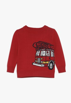 TODDLER BOY NOVELTY CREW  - Svetr - modern red