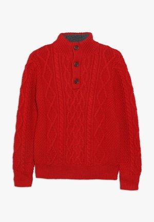 BOY MOCK - Sweter - modern red