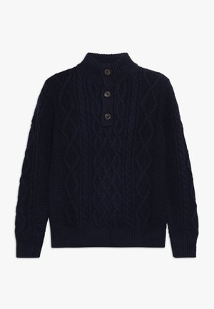 BOY MOCK - Strickpullover - tapestry navy