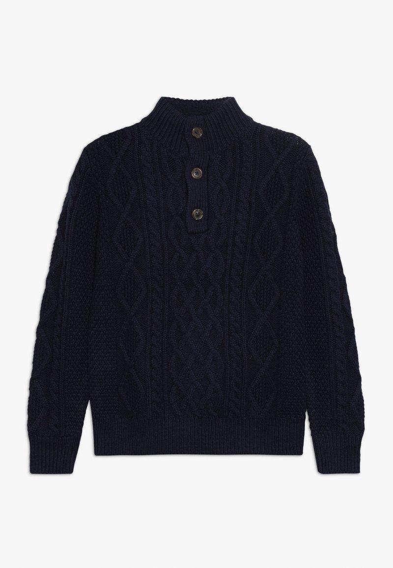 GAP - BOY MOCK - Stickad tröja - tapestry navy