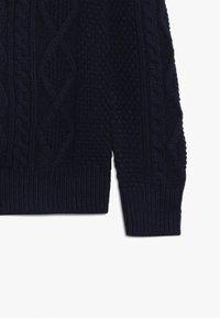 GAP - BOY MOCK - Stickad tröja - tapestry navy - 3