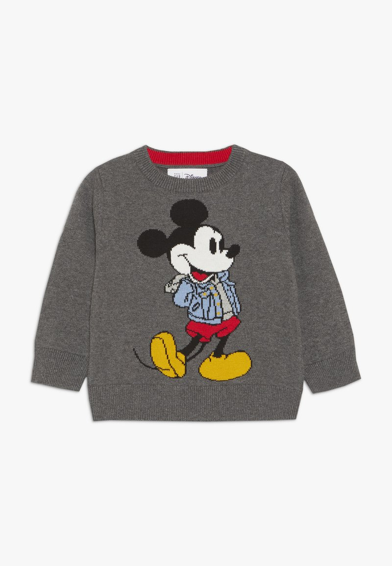 GAP - MICKEY MOUSE TODDLER BOY CREW - Jumper - charcoal grey
