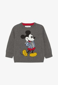 GAP - MICKEY MOUSE TODDLER BOY CREW - Jumper - charcoal grey - 2