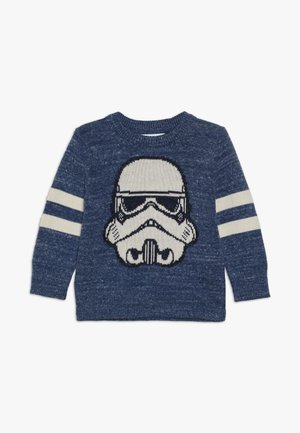 TODDLER BOY NOVELTY CREW - Maglione - buxton blue