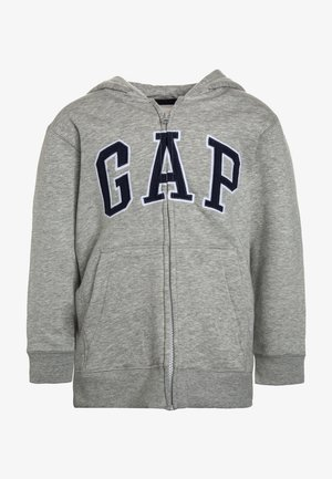 BOYS ACTIVE ARCH - Mikina na zip - light heather grey