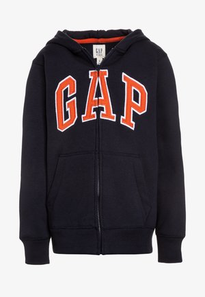 BOYS ACTIVE ARCH - Zip-up hoodie - blue galaxy