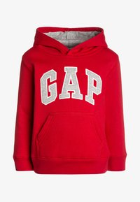 GAP - TODDLER BOY LOGO - Mikina s kapucí - red wagon - 0