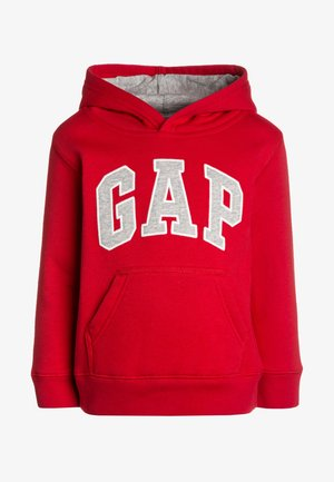 TODDLER BOY LOGO - Kapuzenpullover - red wagon