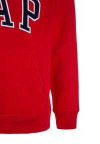 GAP - BOYS ACTIVE ARCH  - Bluza z kapturem - pure red - 3