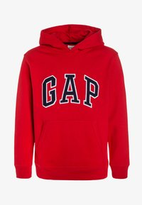 GAP - BOYS ACTIVE ARCH  - Bluza z kapturem - pure red - 0