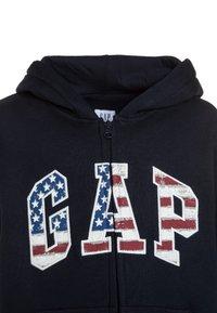 GAP - AMERICANA ARCH - Zip-up hoodie - blue galaxy - 3