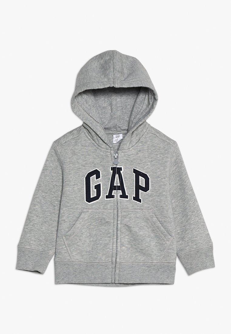GAP - LOGO - Zip-up hoodie - light heather grey