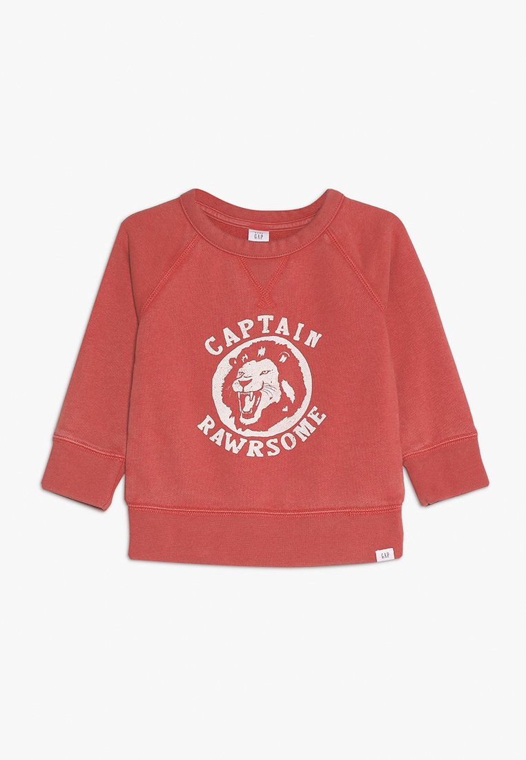 GAP - TODDLER BOY GOOD CREW - Sweatshirt - weathered red