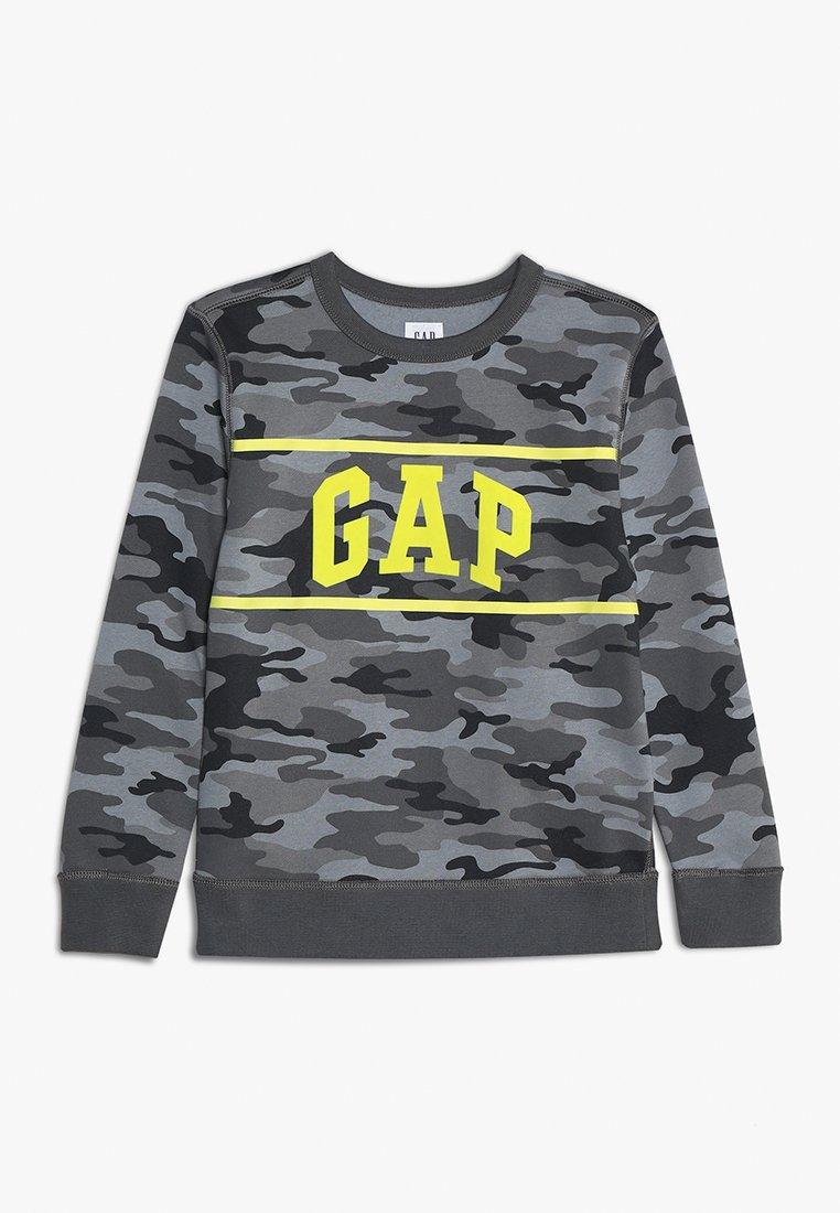 GAP - BOYS ACTIVE CAMO CREW - Sweatshirt - grey