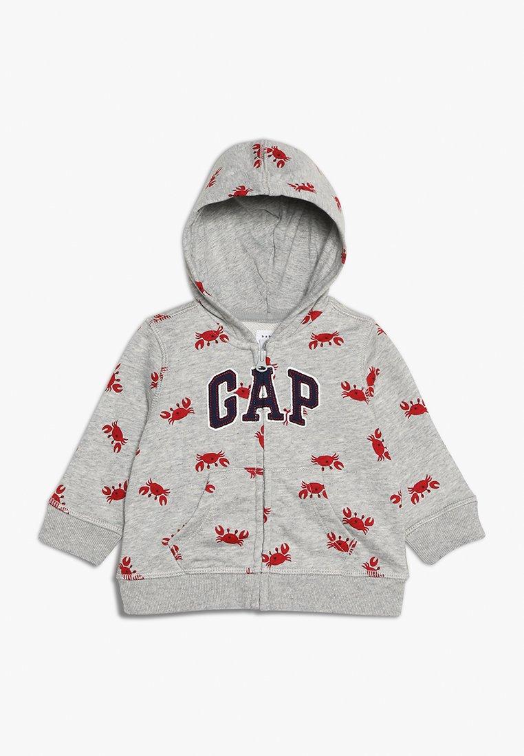 GAP - GARCH HOOD BABY - Sudadera con cremallera - light heather grey