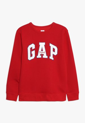 BOYS ARCH CREW - Sweater - modern red